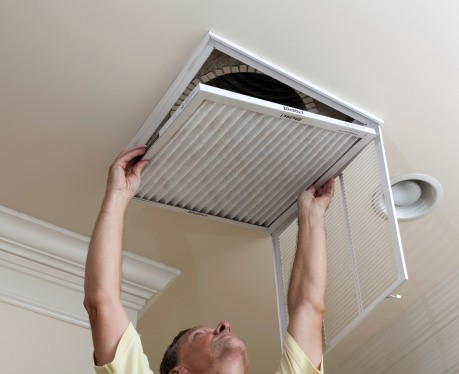 Change your HVAC air filter to lower your energy costs