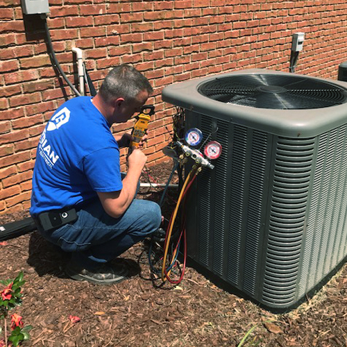 AC Tune Up Dallas, Ga checking freon charge