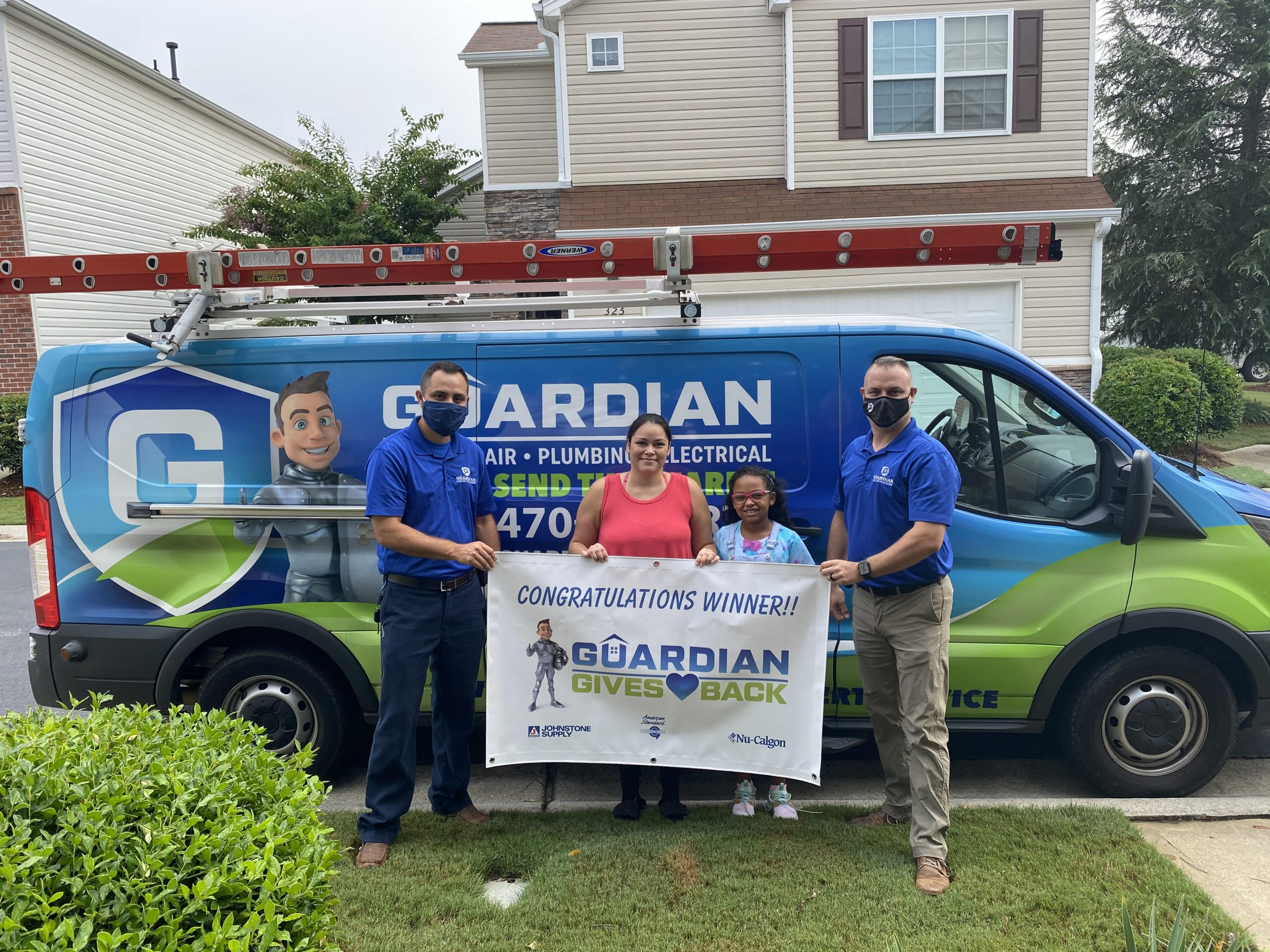 Guardian Gives Back Free HVAC System