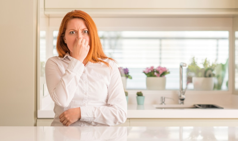 get rid of smells in my home
